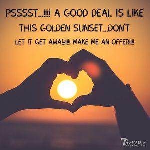 Make me an offer 🤸🏽♀️